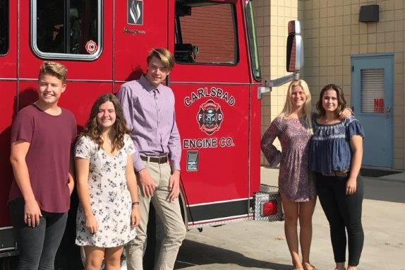 Seaside Courier: Carlsbad Fire Department Foundation grants $21,500 in scholarships